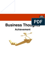 Business Thougts - Achievement