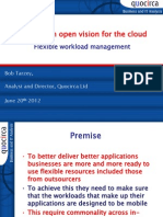 Building an open vision for the cloud