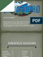 DRB-HICOM BERHAD Strategy Analysis