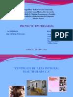 Presentación PROYECTO MODELO DE EMPRESA LISTO