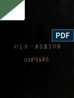 Stokes Whitley, Old-Breton Glosses, 1879