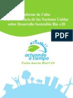 Informe de Cuba a Rio+20