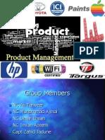 Pruduct Management