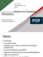 AGs para Otimização Multiobjetivo