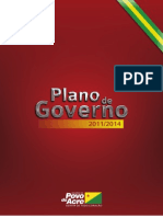 Plano de Governo do Estado do Acre - 2011 2014
