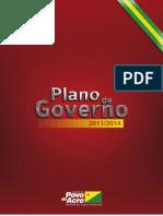 Plano de Governo do Estado do Acre - 2011 2014