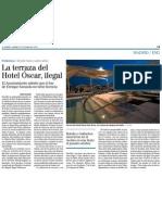 Terraza Hotel Oscar Ilegal