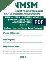2012 - I - FEPA - TEMA Nº 00 - MANUAL