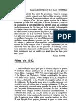 Esprit 1 - 19321001 -  Déléage, André - Films de 1932