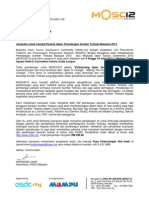 MOSC2012 - Surat Jemputan Rasmi