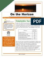 Stakeholder Newsletter - Spring 2012