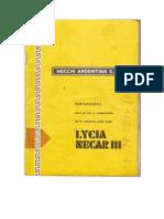 Manual Necchi Lycia Necar III