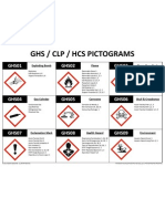GHS Pictogram Chart