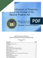 Identification of Firearms