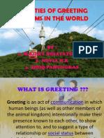 Slide Speaking Kelompok 8 Greeting