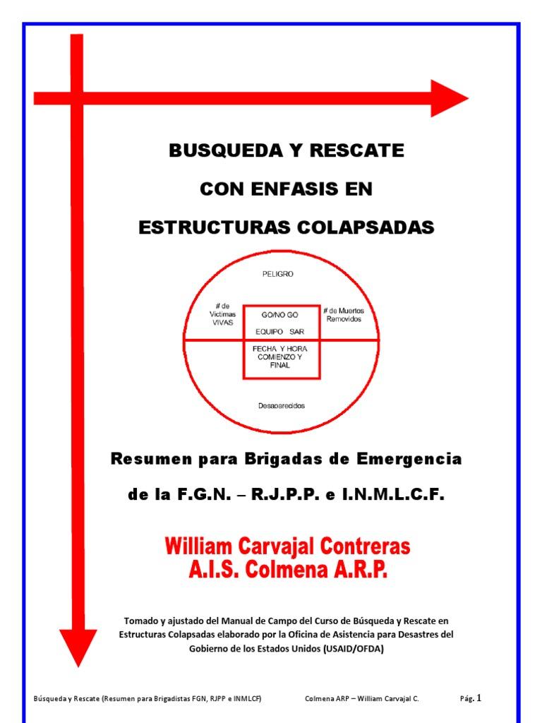 BUSQUEDA insarag