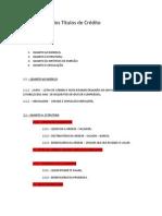 Classificação dos Títulos de Crédito