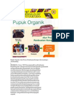 Pupuk Organik Alur Proses Pembuatan Kompos KotoranSapi