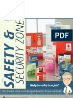 Safety and Security Zone Flyer