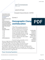 Demographic Change and Education