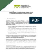 Evaluación Seguridad y Justicia IMDHD
