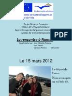 Rencontre à Namur