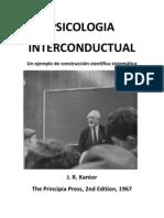 Kantor Psicologia Interconductual 1967