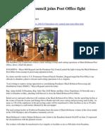Pasadena City Council Joins Post Office Fight_Pasadena Star News