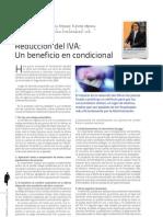 Reducción del IVA