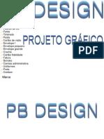 Projeto Grafico PB DESING 1