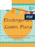Lesson Plan Cover