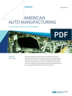 South American Auto Manufacturing
