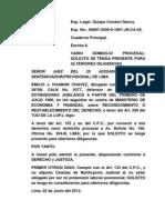 Asociacion Variacion Domicilio Procesal