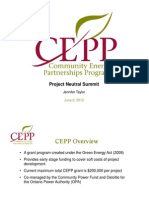 Community Energy Partnerships Program - Jennifer Taylor, CEPP