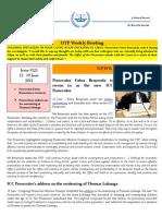 OTP Weekly Briefing 12-19 June 2012 #125