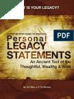 Legacy Book Sneak Peak