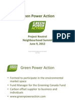 Carbon Offsetting - Rob Elms, Green Power Action