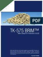 Topsoe Tk-575 Brim