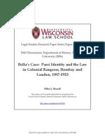 Bella's Case