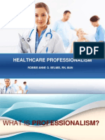 Healthcare Professionalism