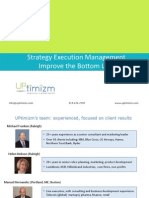 Strategy Execution Mgt
