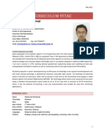 CV Dr. Hisham Bin Mohamad Oct 2011
