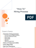 Hiring Process Hr