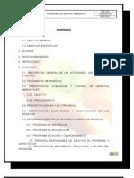 (Gh-i-03) Programa de Gestion Ambiental