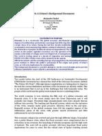 RIO+20 a Citizen's Background Document