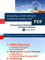 Designing, Constructing and Financing Healthy Housing - Mark Salerno, CMHC