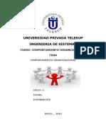 TG Comportamiento Organizacional