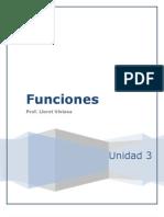 Unidad 3 Funciones