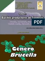 Tema 9 Bacilos Productores de Zoonosis
