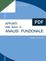 2006 - Analisi Funzionale - Appunti Riveduti